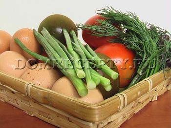 Фаршированные помидоры - рецепт - фото ингредиентов
