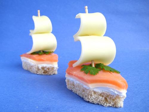 Легкие и вкусные бутерброды