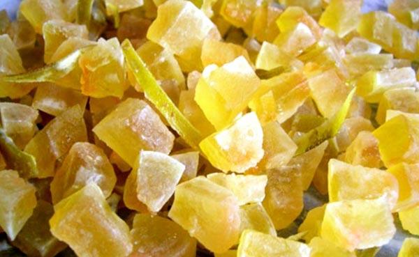 Приготовление цукатов из груш