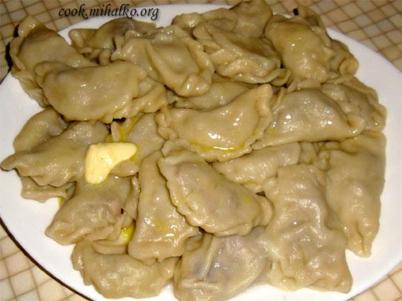 фото рецепт вареники с картошкой