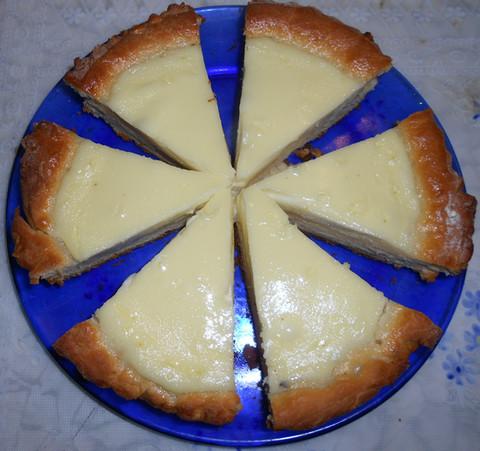 Сметанный пирог фото рецепт