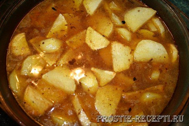 Говядина с картошкой в духовке рецепт говядина