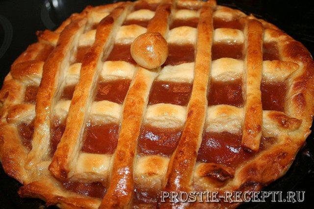 Пирог открытый с павидлом