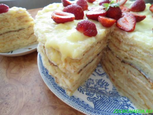 Рецепт простого и вкусного тортика