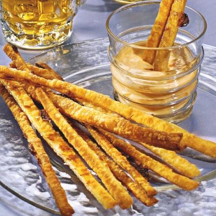 рецепт сырных палочек к пиву