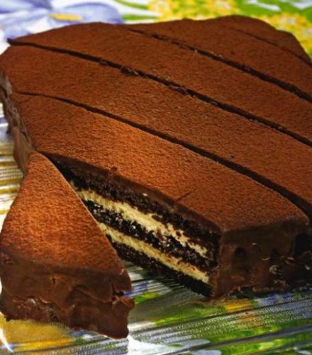 рецепт трюфель торт с фото