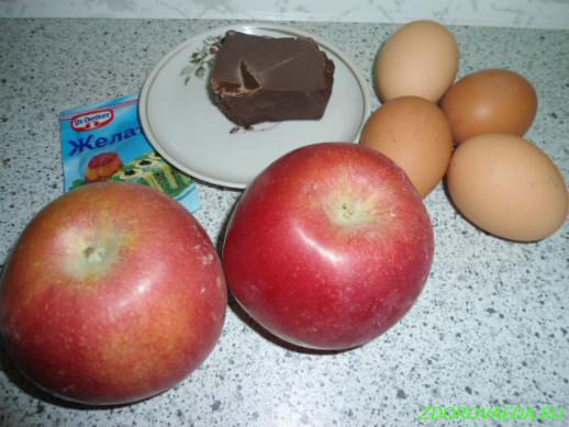 Домашний зефир яблочный