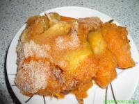 Попробуйте - запеченная тыква с яблоками