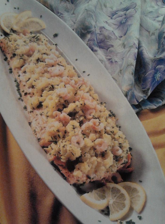 праздничное жаркое из лосося