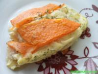 Здоровое питание: тыква с рыбой в духовке