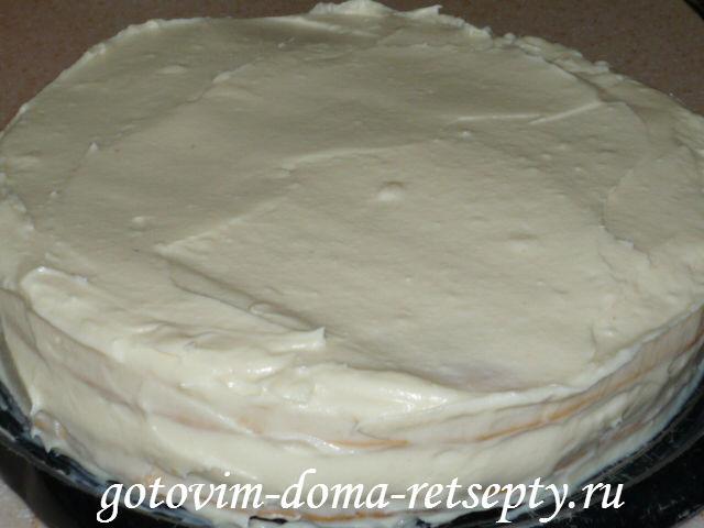 Заварной крем для наполеона с маслом рецепт