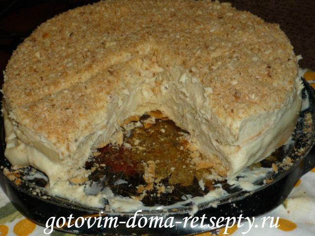 Наполеон торт дома