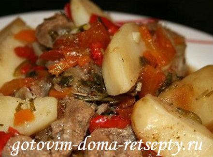 тушеное мясо рецепты