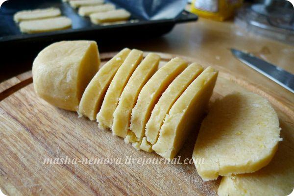 Печенье лимонное постноеы