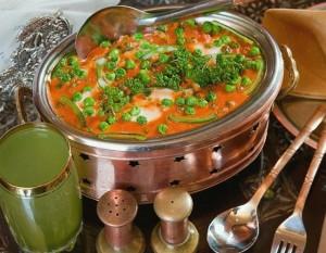 Суп овощной микроволновка