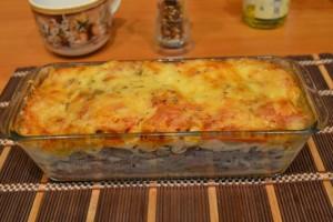 Рецепт теста для лазаньи с фаршем в домашних условиях
