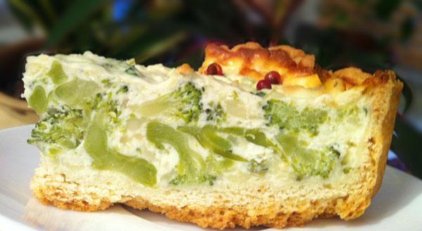 Лоранский пирог с курицей и брокколи рецепт
