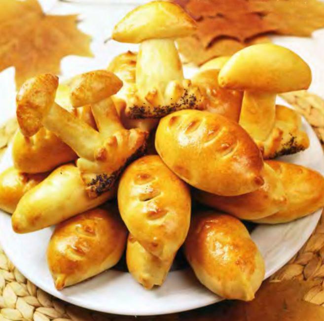 Пирожки с квашеной капустой в духовке рецепт