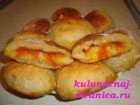 Пирожки картофельные с тыквой