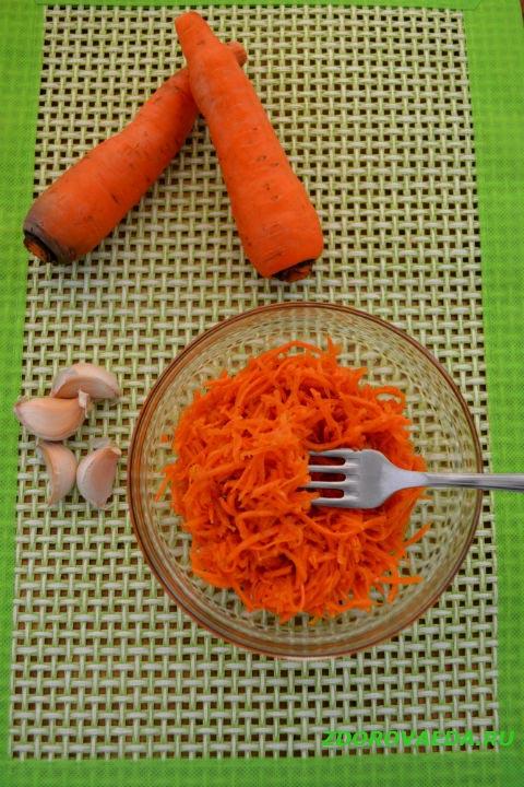 Вкусная морковь по-корейски (фото-рецепт)