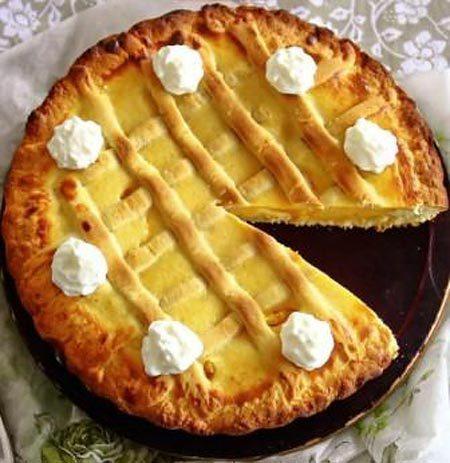 Рецепт как приготовить пасхальный пирог