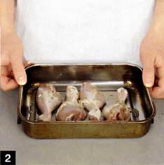 -голень куриная  с картошкой рецепт
