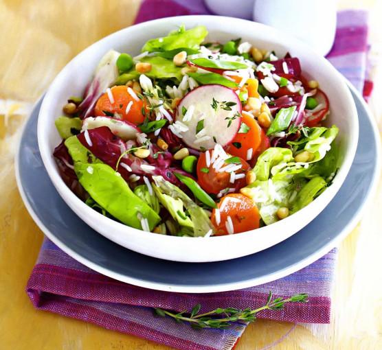 Блюда и салаты из риса с