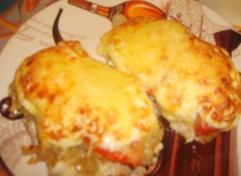 Калорийность горбуши с сыром в духовке