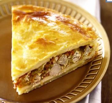 Рецепт пирог со свининой