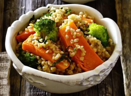 Рецепт салата с тыквой