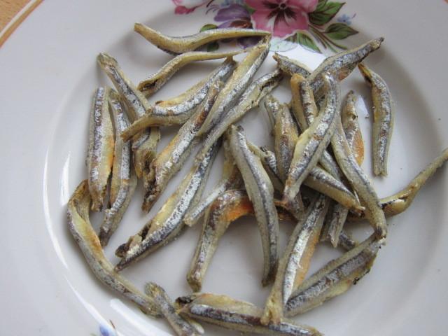Блюдо с анчоусами