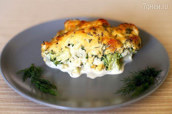 Диетические блюда из цветной и брокколи капусты рецепты и 116