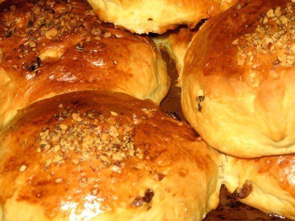 Сдобные булочки к завтраку рецепт