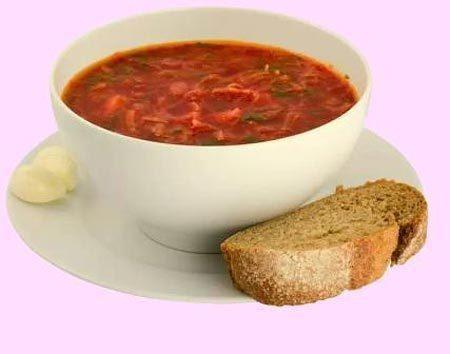 Готовим густой томатный суп