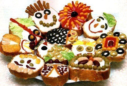 детские бутерброды рецепты с фото