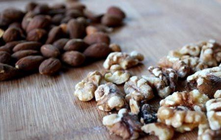 Обжаренные орехи