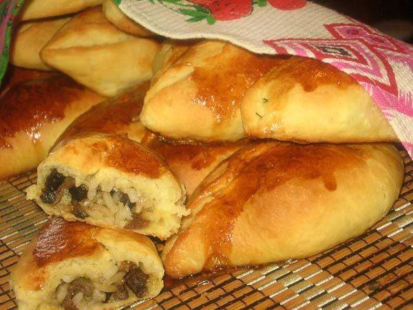 Пирожки рецепт пошагово с фото