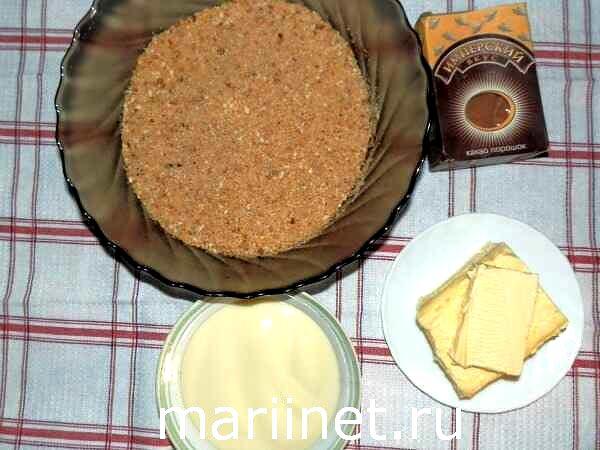 Как сделать пирожное картошка без печенья