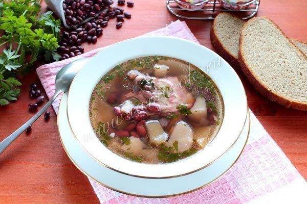 Рецепт фасолевого супа в мультиварке