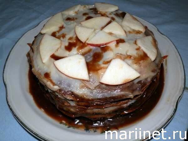 Сладкий блинный торт рецепты с фото