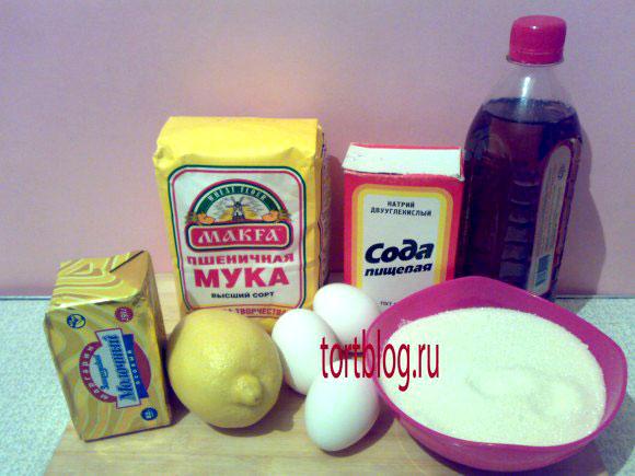 рецепт сахарного печенья: