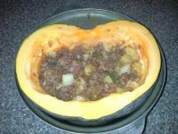 Что можно приготовить на ужин: блюдо из тушенки с тыквой