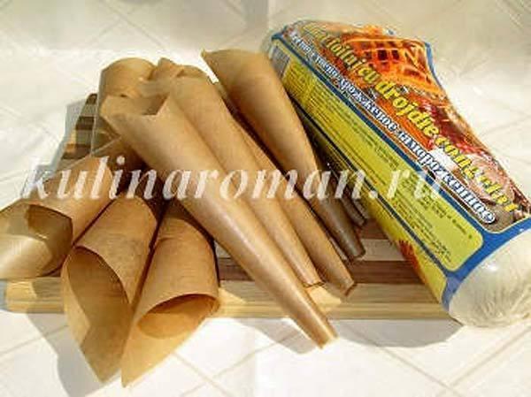 Слоеное тесто в домашних условиях для трубочек