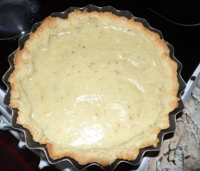 Лимонный пирог (пирог лимонник)
