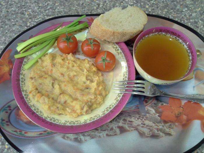 Горошница с мясом рецепт с фото пошагово