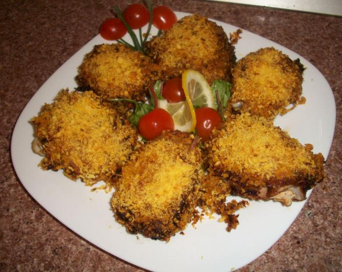 Рецепт приготовления вторых блюд из курицы