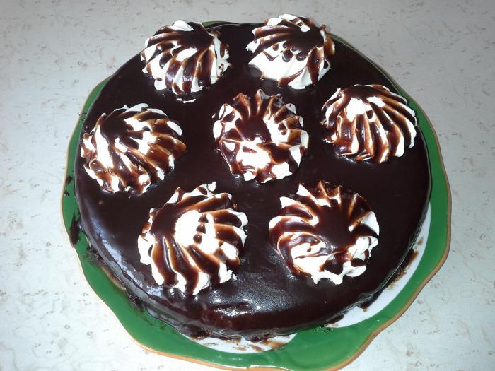 Домашние торты. Торт Зебра