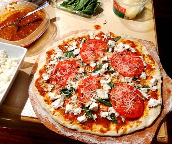 Рецепт домашней пиццы от Брента