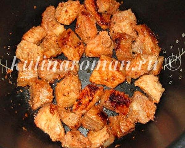 Шашлык из свинины в мультиварке рецепты с фото редмонд