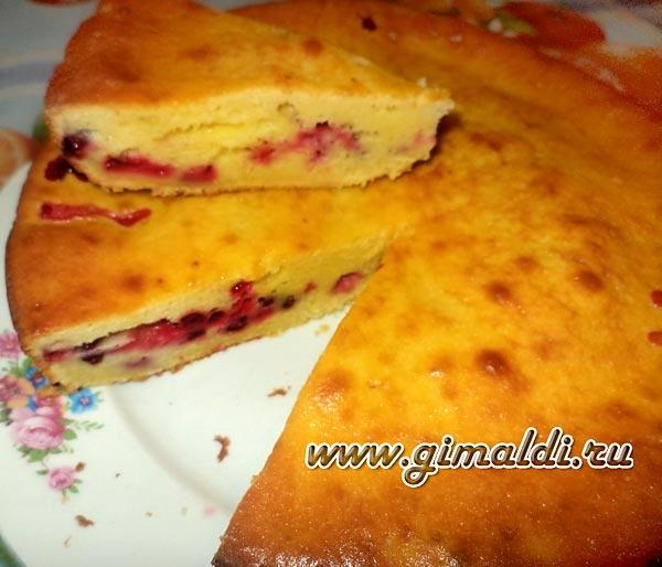 Быстрый пирог сметанник рецепт